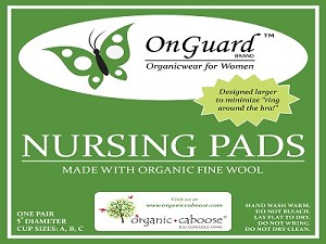 OnGuard Organic Fine Plush Wool Nursing Pads produced with Organic Wool