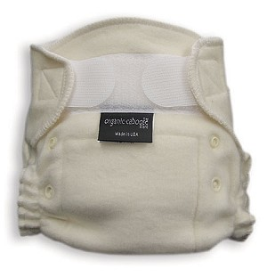 Organic Aplix Fitted Diaper (2 adjustable sizes)